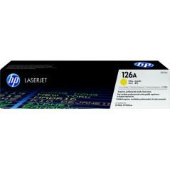 HP 惠普 HP 126A 黃色原廠 雷射碳粉盒 CE312A