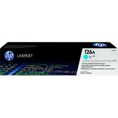 HP 惠普HP 126A 靛藍色原廠 雷射碳粉盒 CE311A