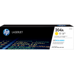 HP 惠普 HP 204A 黃色原廠 雷射碳粉匣 CF512A