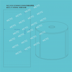 102MM x150MM Direct Thermal Label  NO.2436