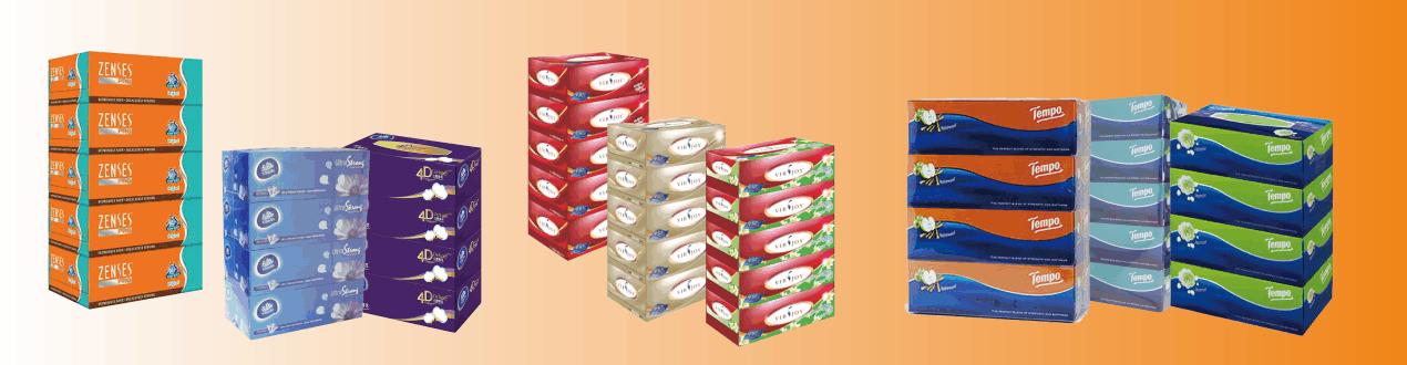 Boxed Facial Tissues