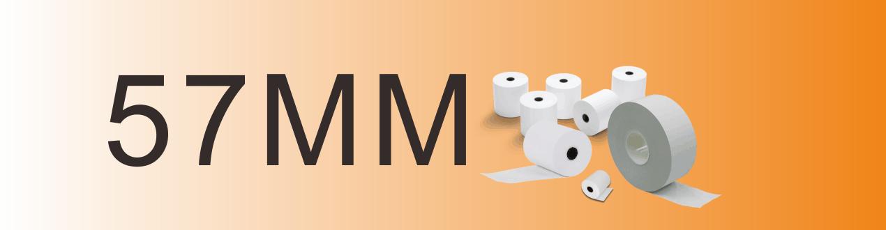 57mm機紙 八達通機紙 收銀機紙 POS機紙 熱敏紙  感熱紙  收銀紙  紙卷  紙